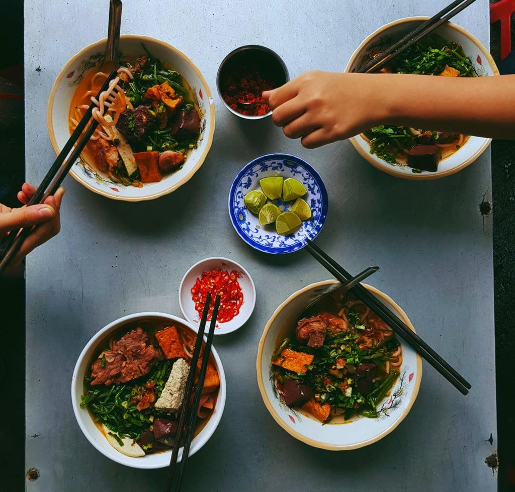 Einfach durchprobieren heißt die Devise in Vietnam – alles schmeckt.