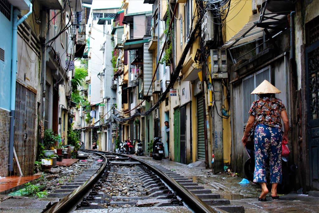 Saigon im Süden Vietnams ist eine Stadt der Wiedersprüche.