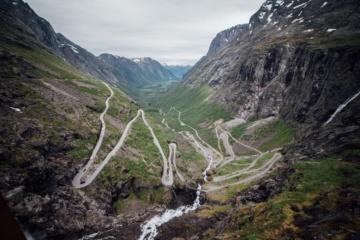 Die Atlantic Road in Norwegen ist ein Traum von Roadtrip.