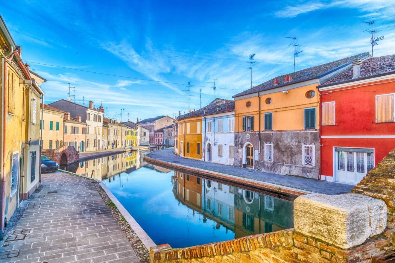 Comacchio in Italien