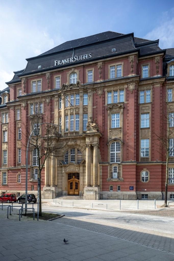 Fassade Fraser Suites Hamburg
