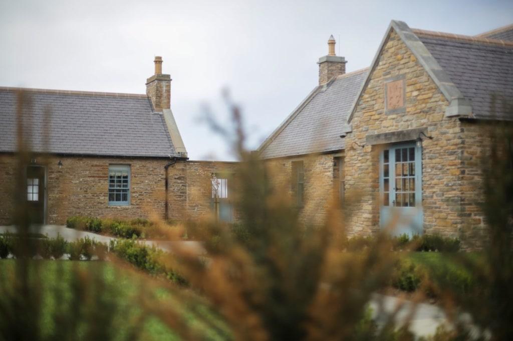 Fassade Granary Lodge Caithness