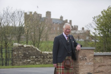 The Prince Charles attends the opening of The Granary Lodge at Castle of Mey