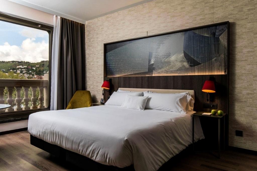 Hotelzimmer im NYX Hotel Bilbao