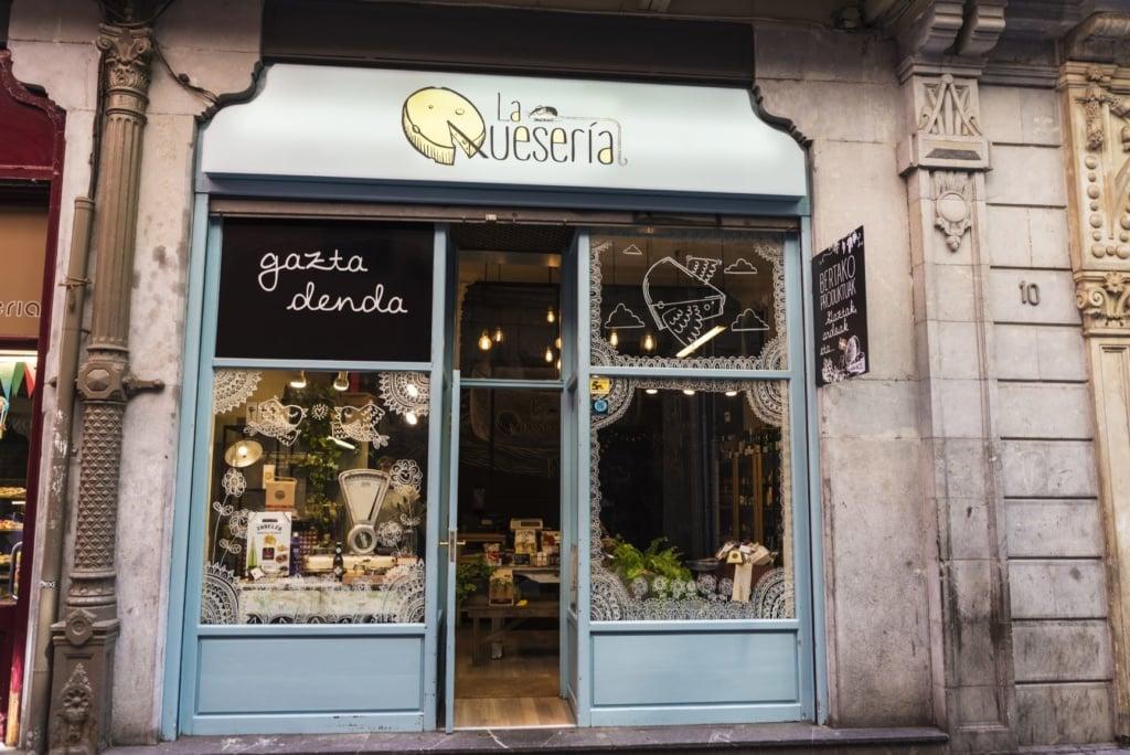 Käse-Geschäft Bilbao