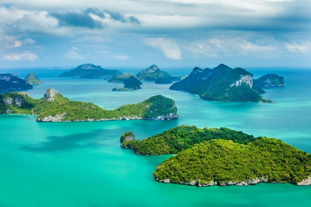 Nationalpark Ang Thong Marine Thailand Inseln