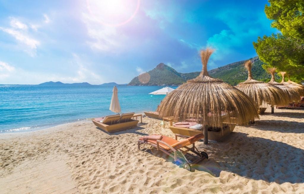 Playa de Formentor auf Mallorca