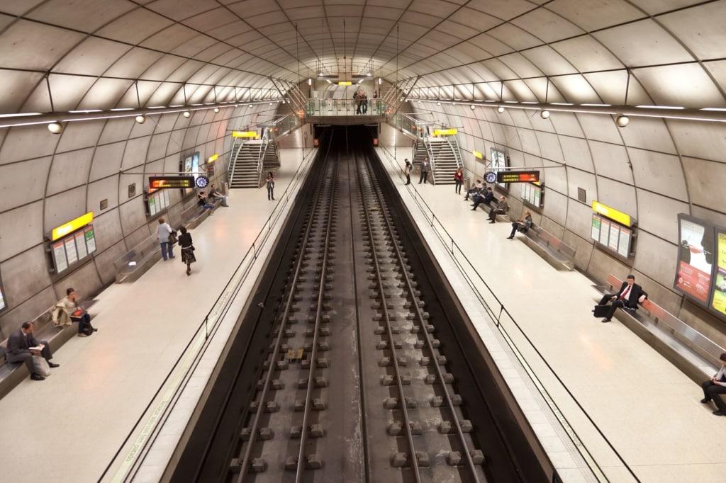 U-Bahn-Station Portugalete in Bilbao