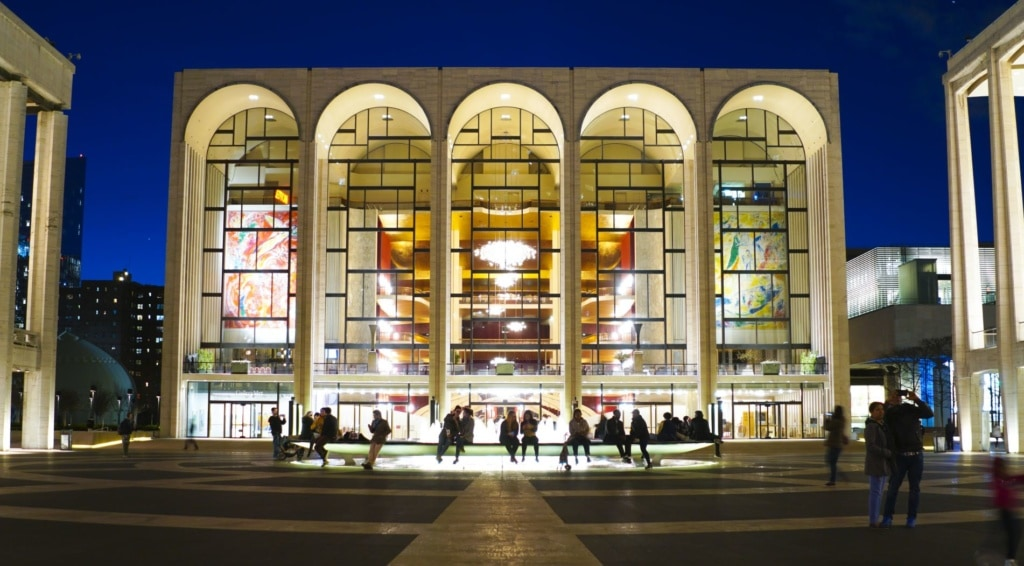 The Metropolitan Opera at Lincoln Center in Manhattan