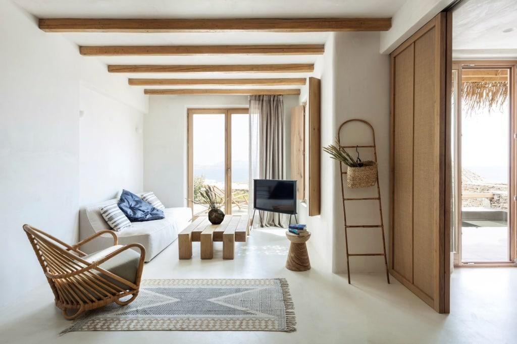 Zimmer im Wild Hotel Mykonos