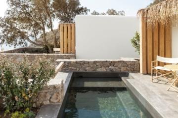 Private Pool im Wild Hotel auf Mykonos