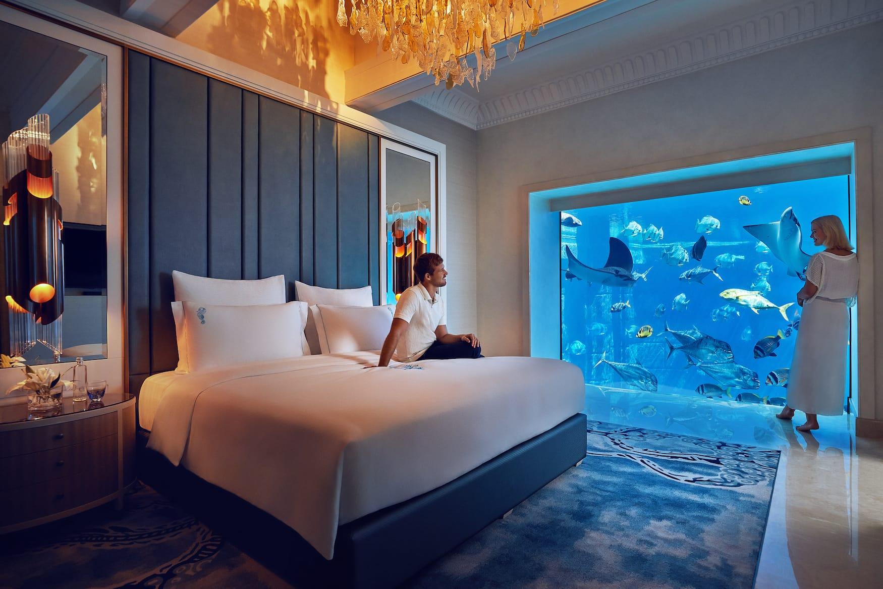 Unterwasser-Suite im Atlantis The Palm in Dubai