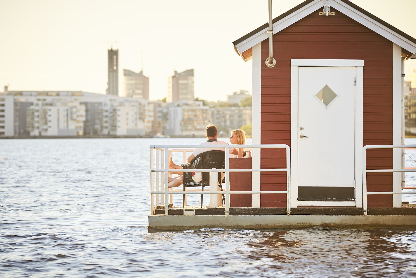 Unterwasserhotel Utter Inn in Schweden