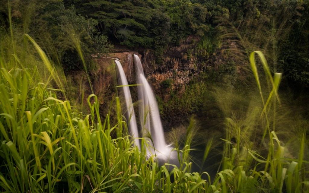 Hawaii.Inseln Tipps: Wasserfälle Wailua auf Kauai