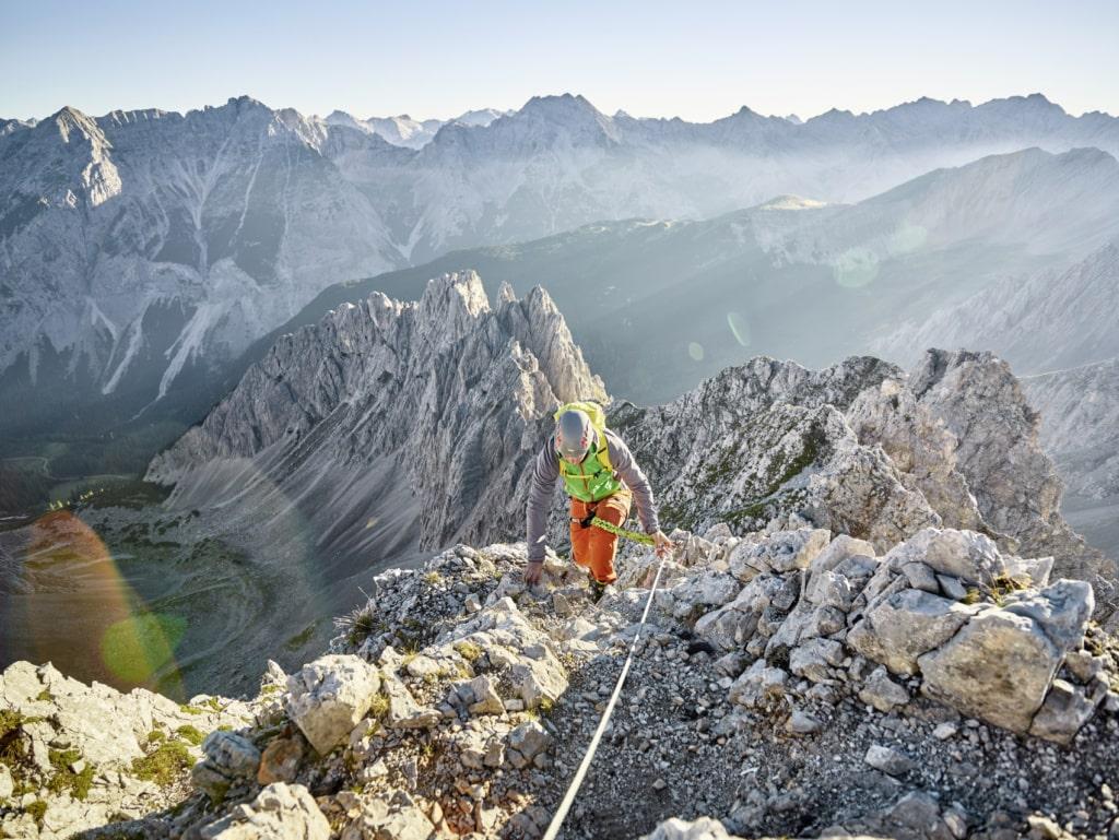 Bergsteiger im Sellrain