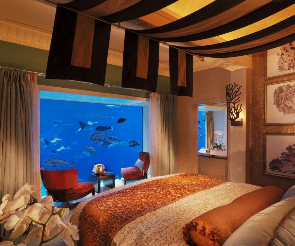 Unterwasser-Suiten: Atlantis The Palm