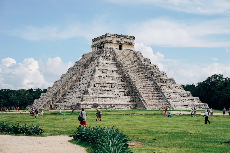 Die Maya-Stätte Chichen Itza in Mexiko