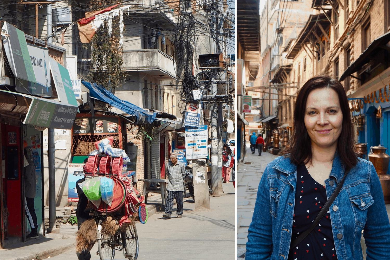 Einblicke aus Kathmandu, nepal