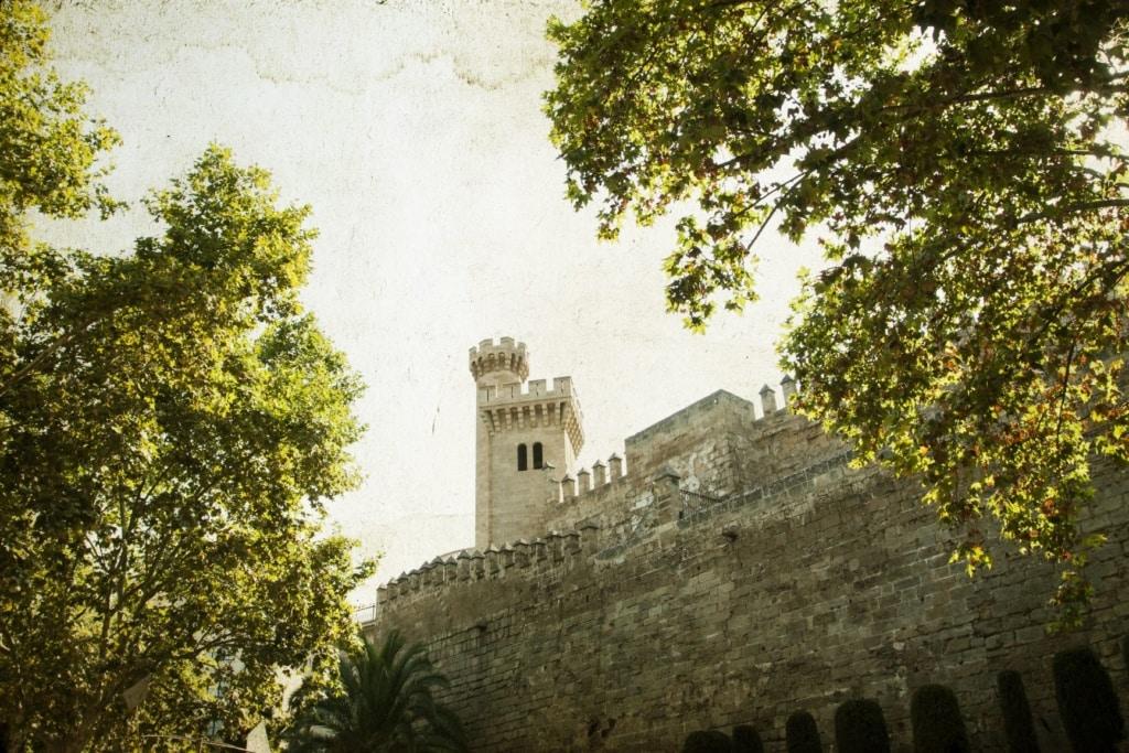 Almudaina-Palast in Palma de Mallorca
