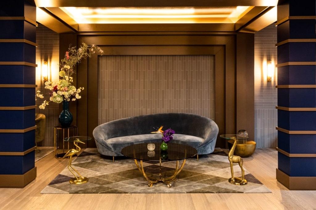 Lobby im Amo Hotel Berlin