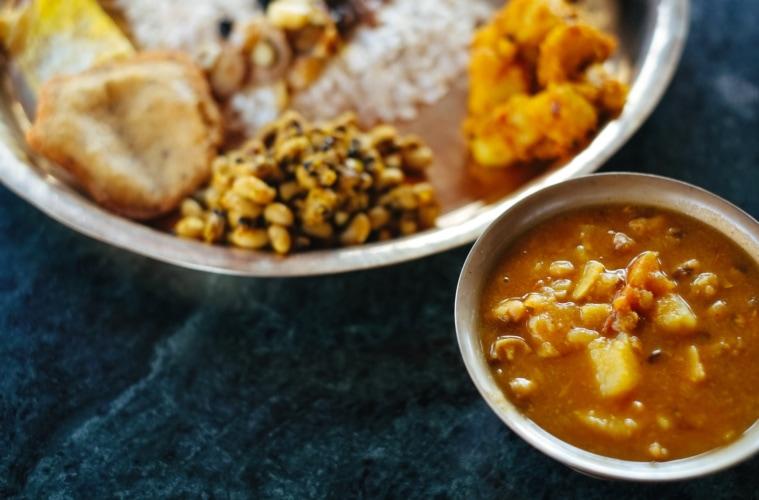 Essen aus Nepal