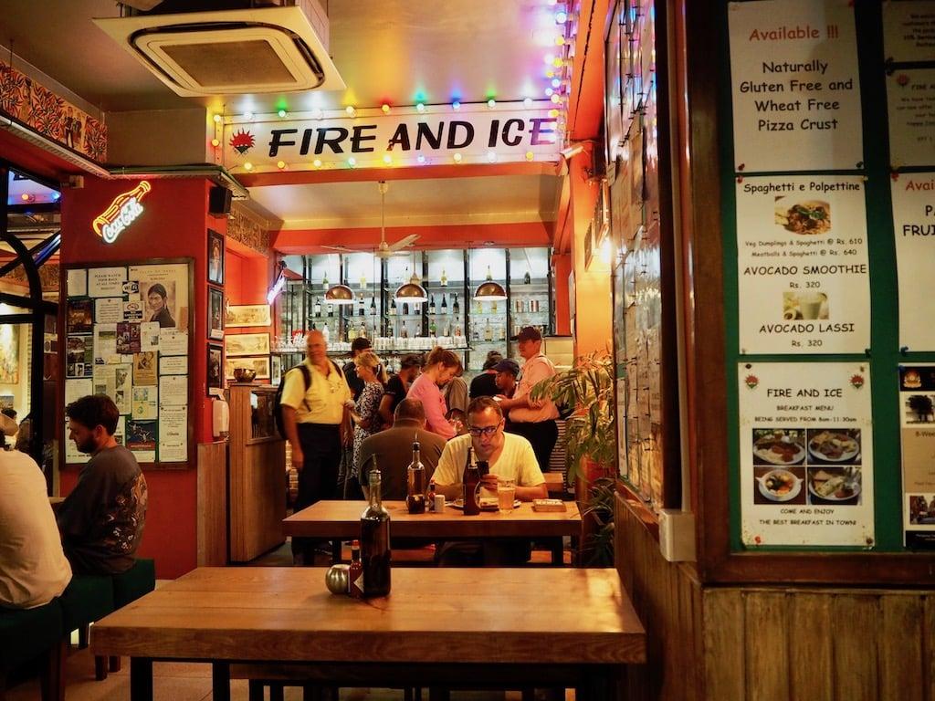 Pizzeria in Nepals Hauptstadt Kathmandu