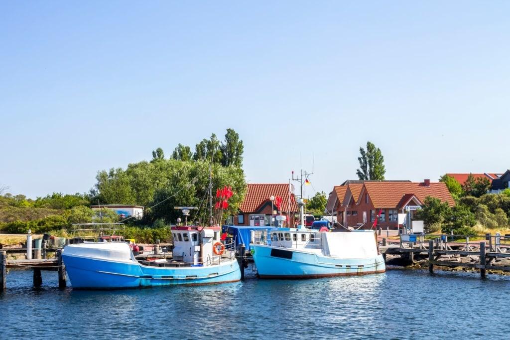 Hafen der Insel Poel