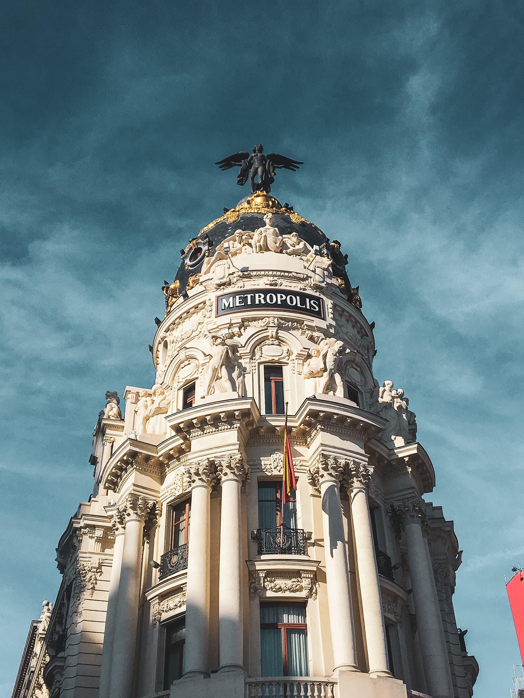 Das Metropolis-Haus ist das Instagram-Motiv schlechthin in Madrid
