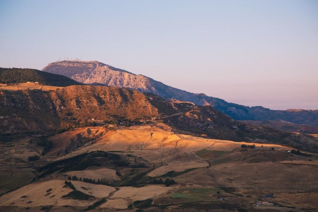 Landesinnere Sizilien