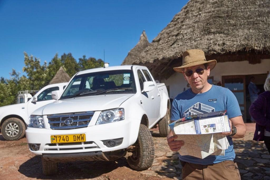 Martin Häußermann in Tansania