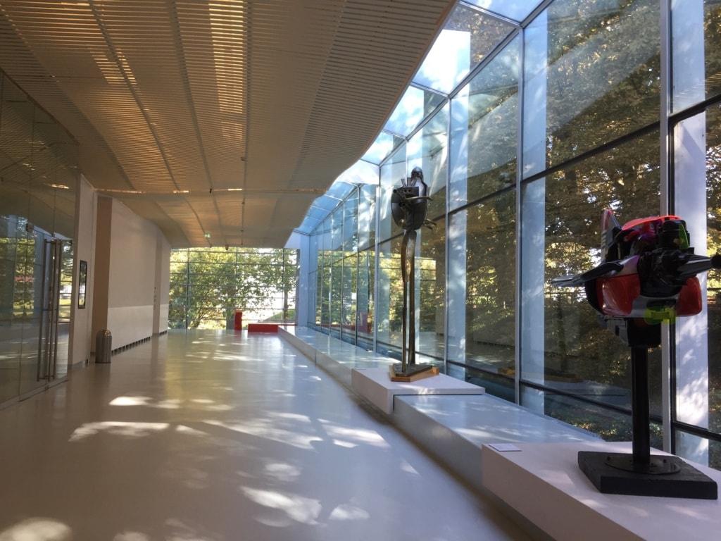 Das Museum Het Valkhof in Nimwegen ist erstaunlich hell und modern.