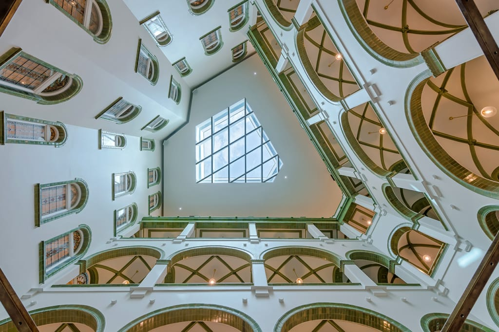 Párisi Udvar Hotel Budapest Blick Innen