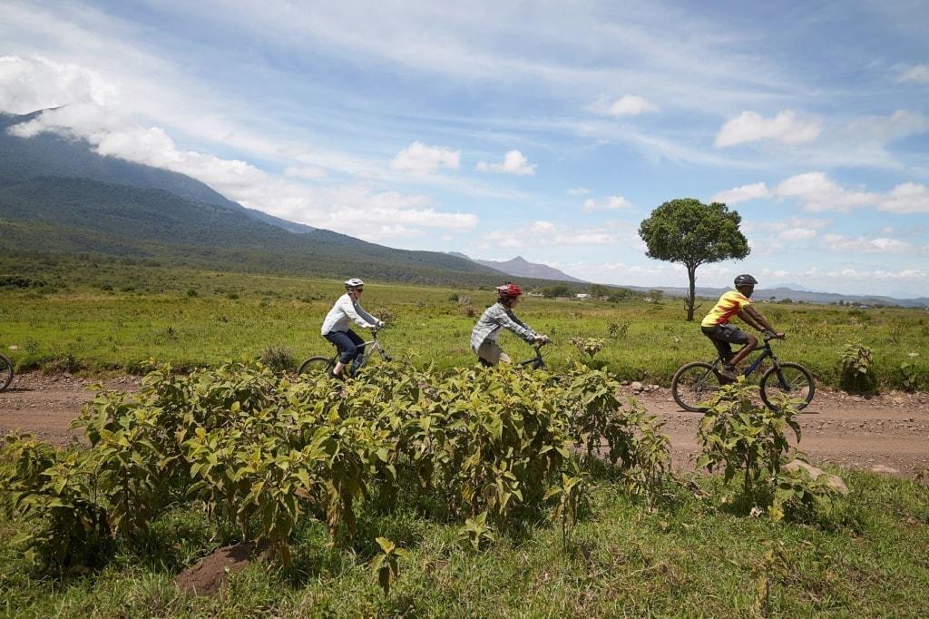 Radfahrer Tansania