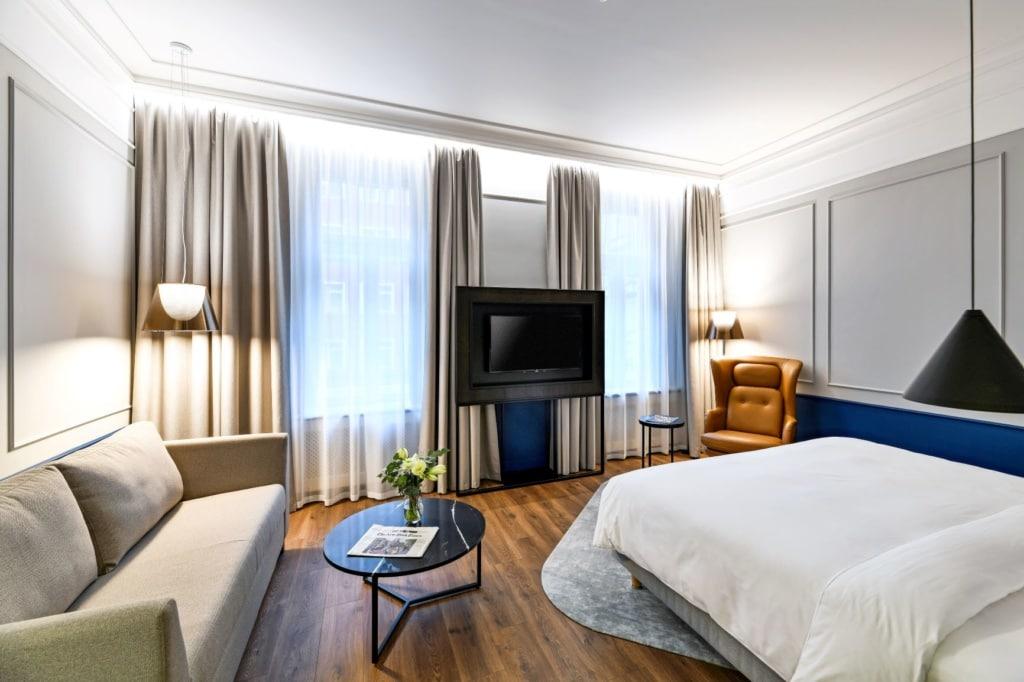 Zimmer im Radisson Blu Hotel Prag