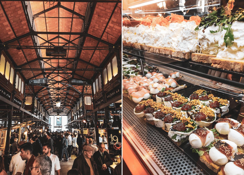 Für jeden Geschmack etwas dabei: Der Mercado de San Miguel in Madrid ist ein Foodie-Heaven