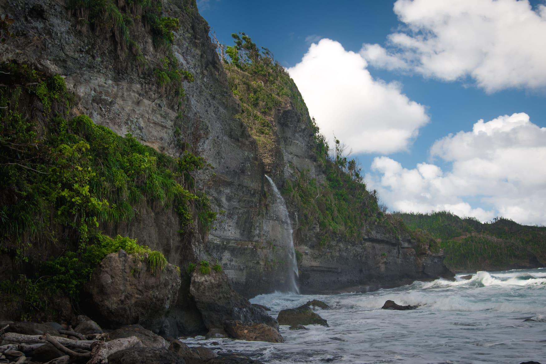 Wavine Cyrique Falls in Dominica