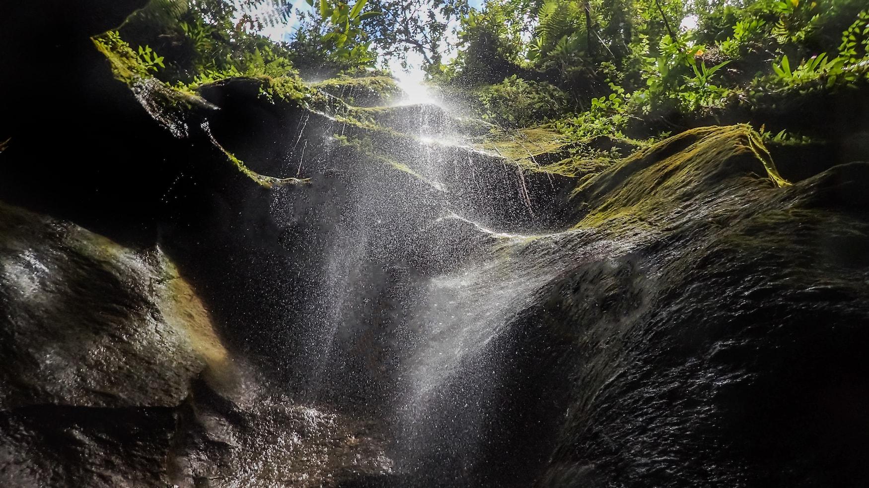 Titou Gorge, auf die Karibikinsel Dominica