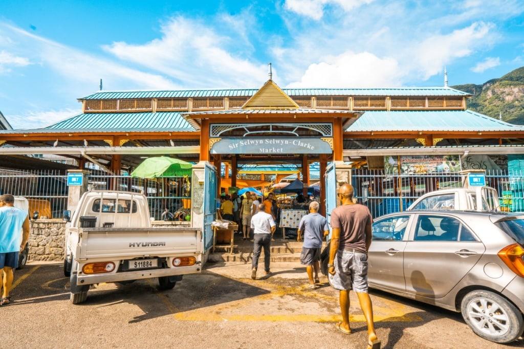 Sir Selwyn Selwyn-Clare Market auf den Seychellen