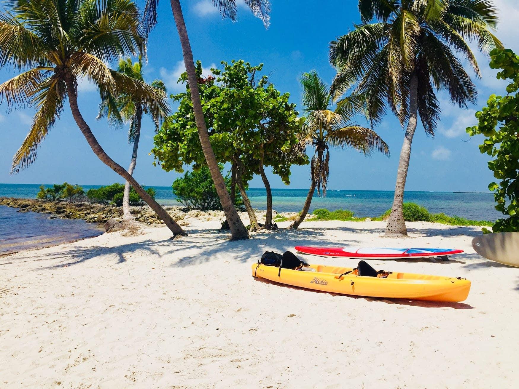 Strandzugang in Florida