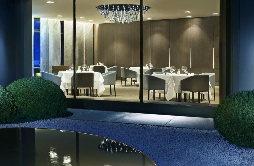 Das Restaurant Aqua im Ritz Carlton Hotel Wolfsburg ist einfach nur toll.