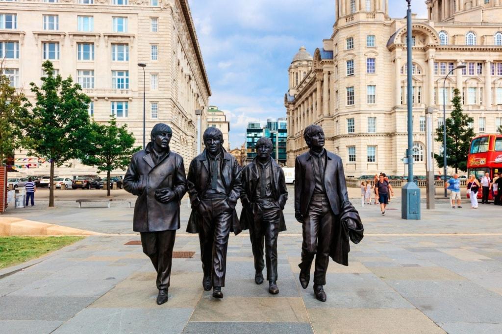 Beatles Statuen Liverpool