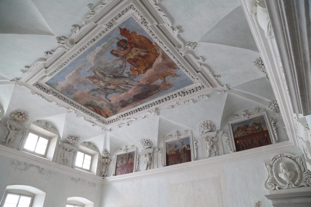 Palais Mamming Museum Meran Festsaal