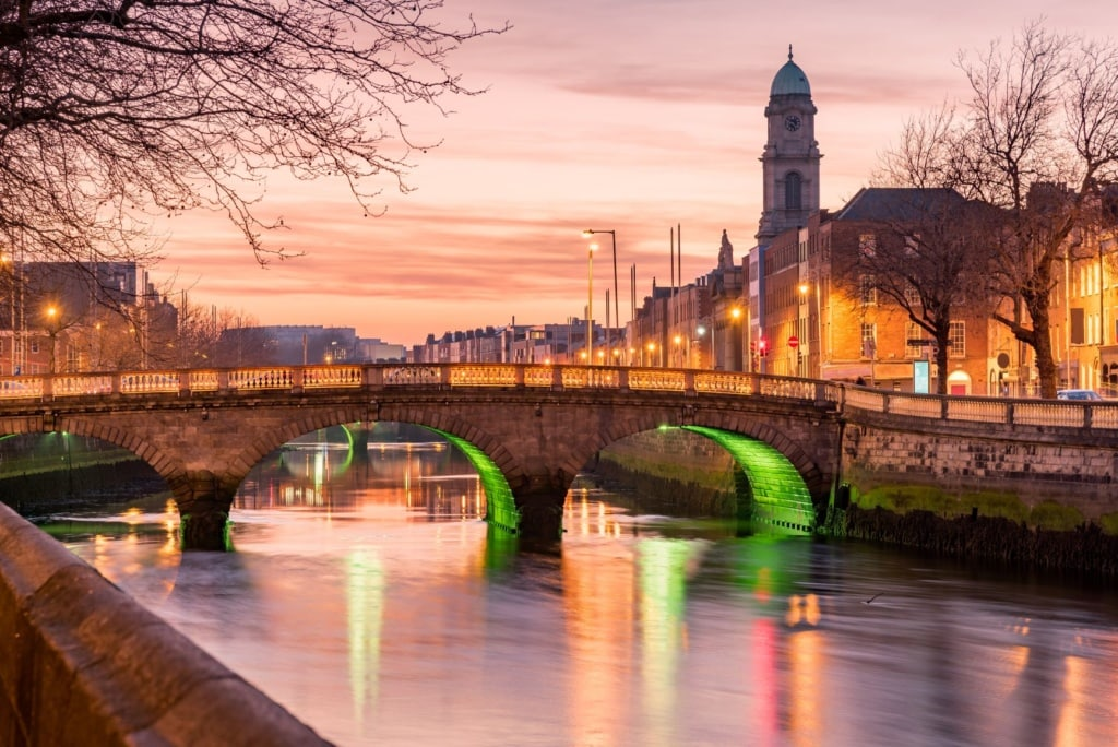 Grattan Bridge Dublin