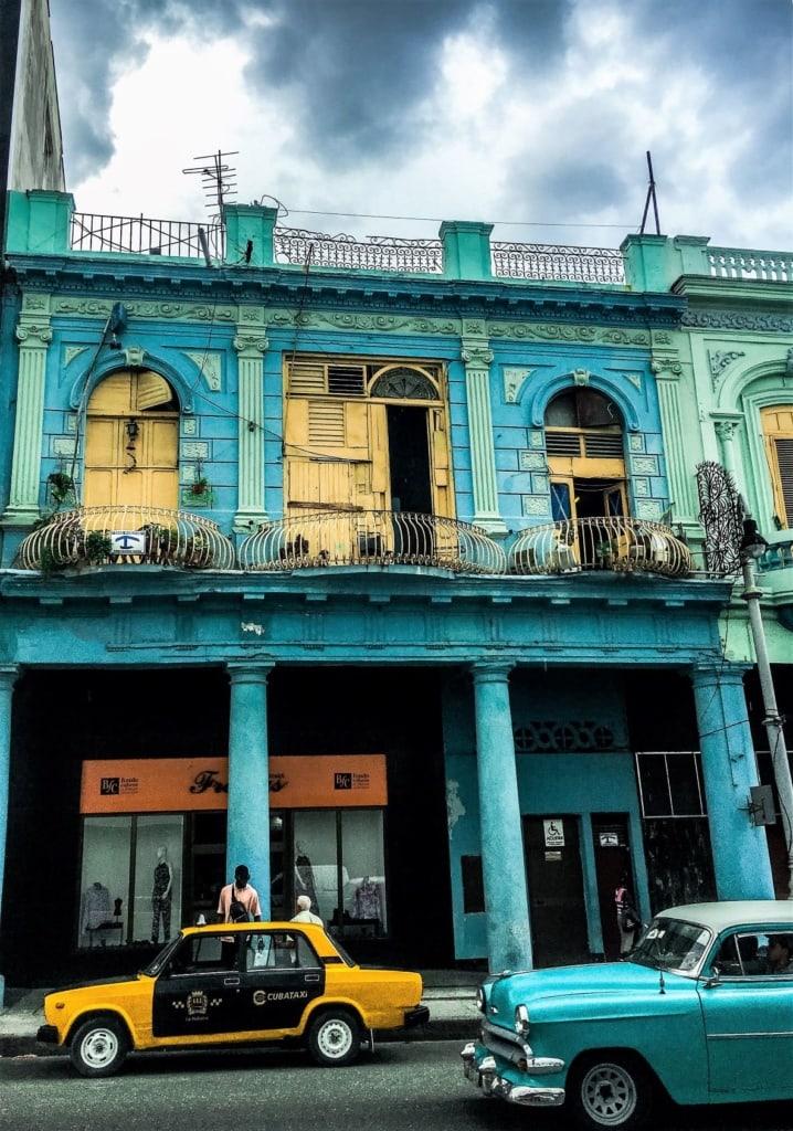 Straßenszene in Havanna