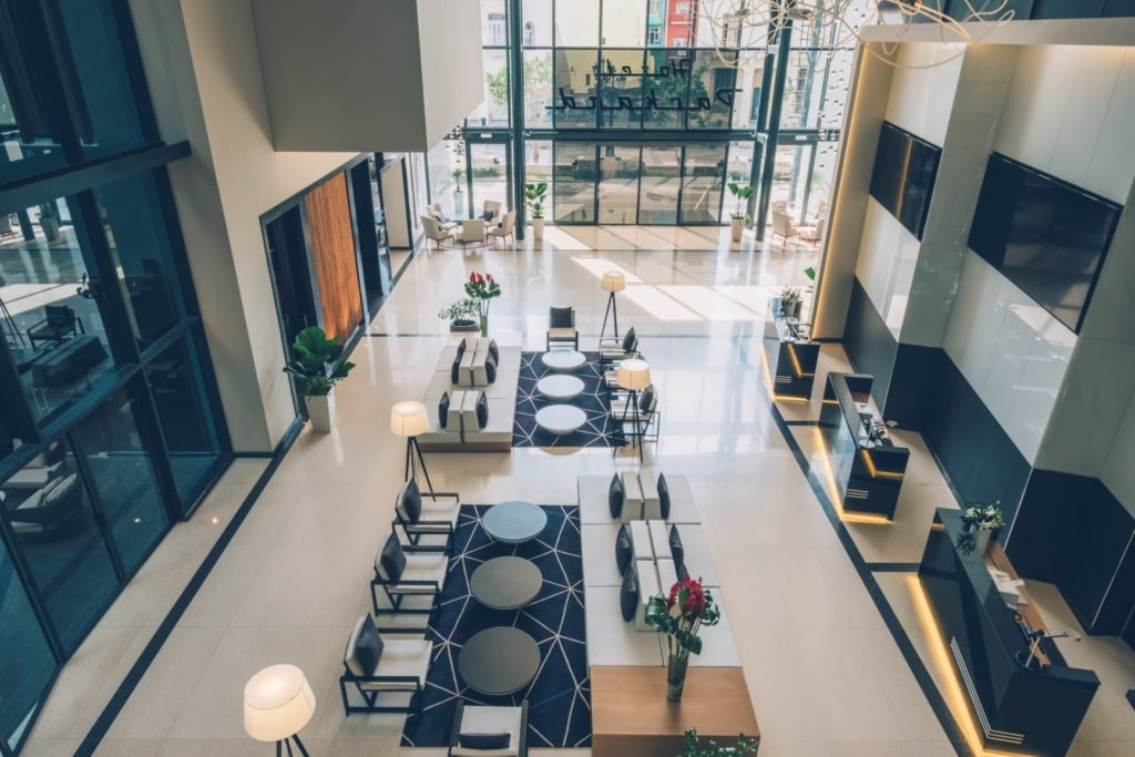 Lobby im Iberostar Grand Packard Havanna