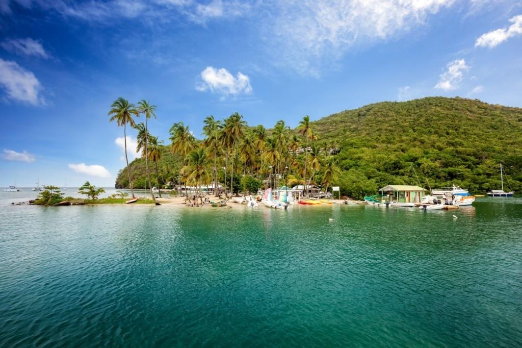 Marigot Exotic Bay, Saint Lucia, Caribbean
