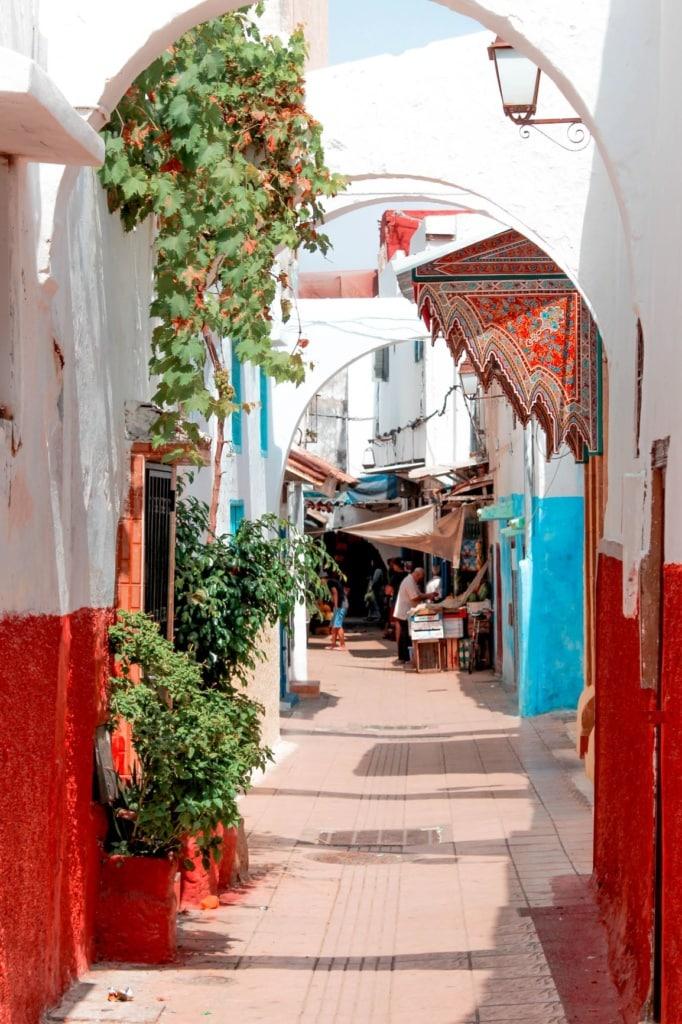 Gasse in Rabat