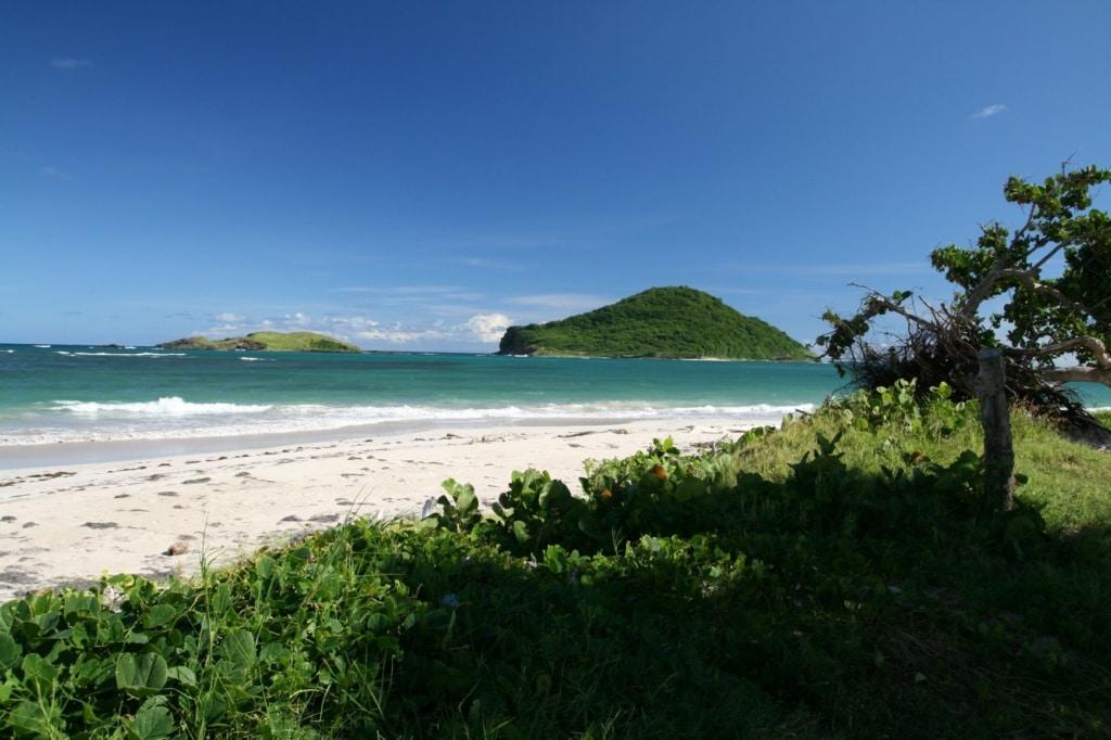 Anse de Sables Strand auf Saint Lucia