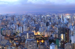 Skyline, Hochhäuser in Sao Paulo