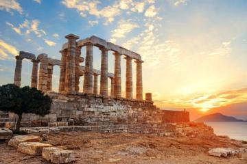 Sonnenuntergang Akropolis Athen